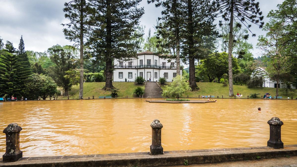 Parque Terra Nostra, Furnas, Sao Miguel, Açores
