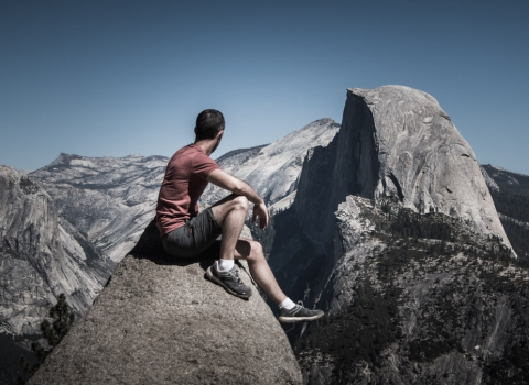 Glacier Point, Yosemite, Californie