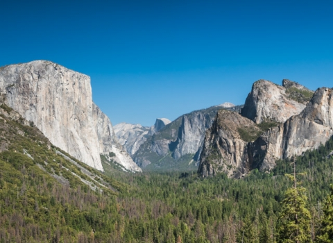 Tunnel View, Yosemite, Californie