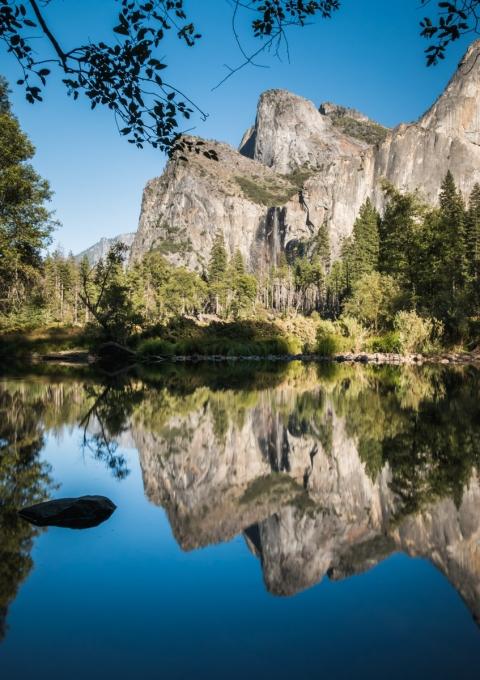 Valley View, Yosemite, Californie