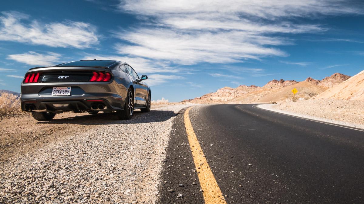 Artist's Drive, Death Valley, Nevada