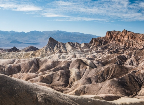 Zabriskie Point, Death Valley, Nevada