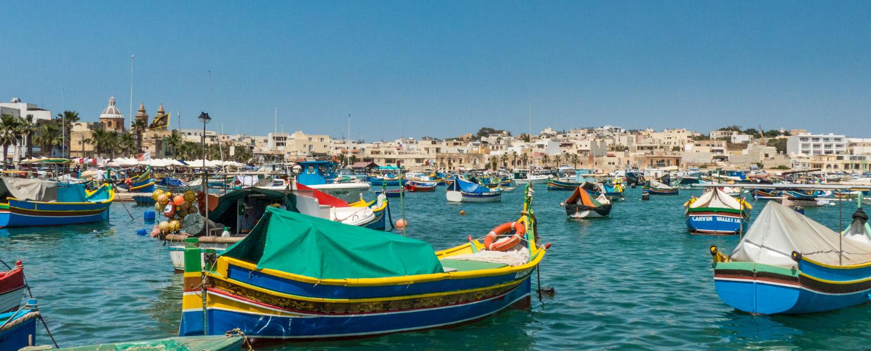 Port de Marsaxlokk, Malte