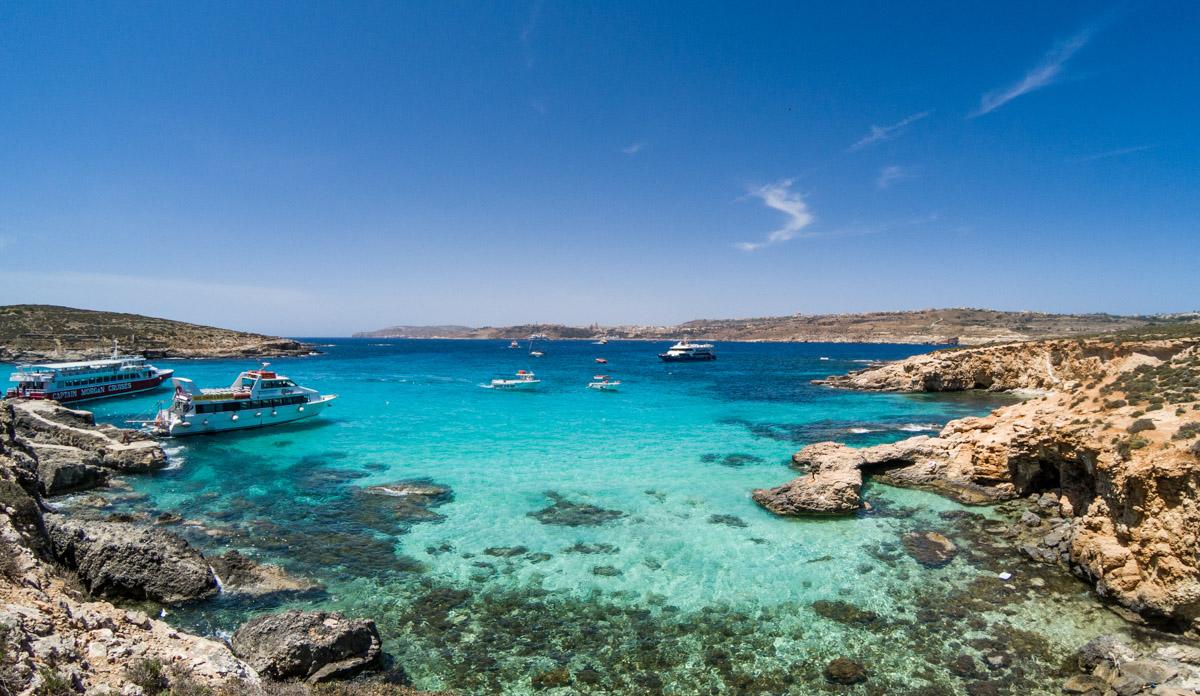 Blue Lagoon, Comino, Malte