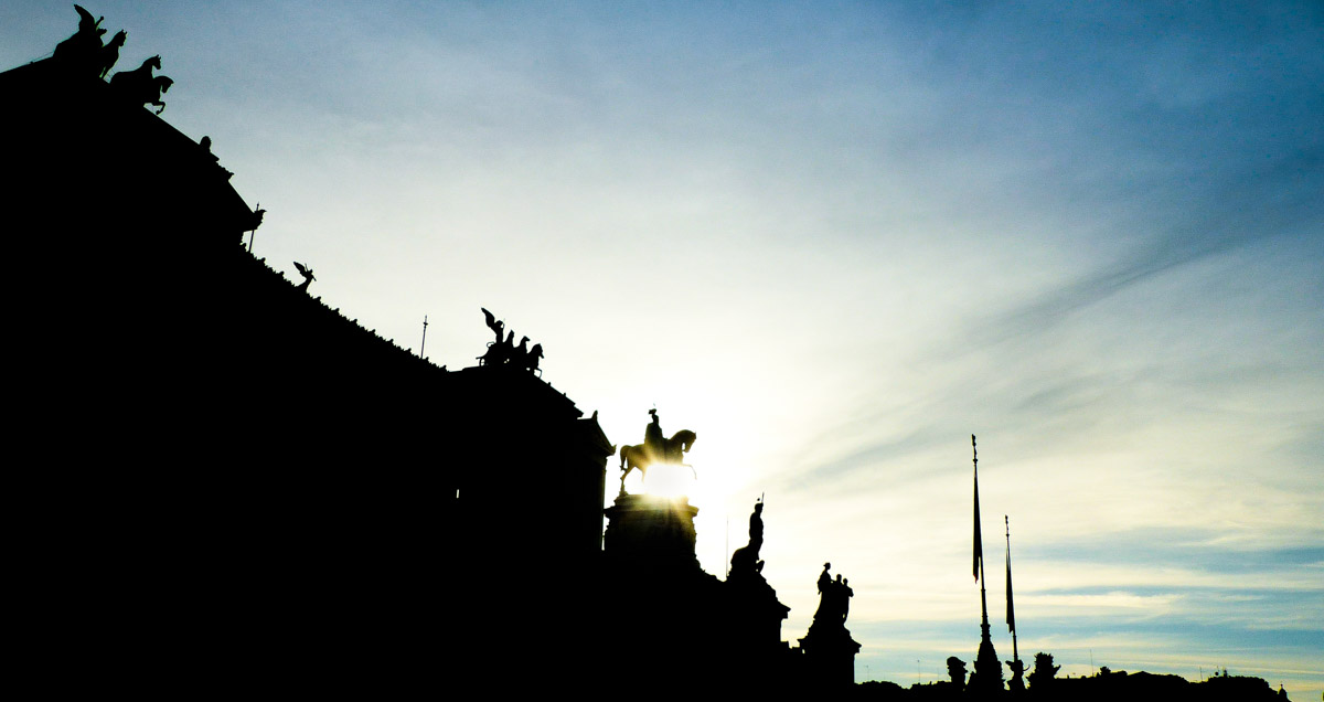 Vittoriano II, Rome, Italie